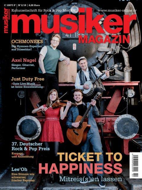 Musiker Magazin 2/2019