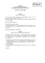 Entwurf - Landesjagdverband Nordrhein-Westfalen