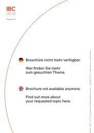 INTERNATIONAL PARTNER PROGRAMMES – BEING SUCCESSFUL TOGETHER!