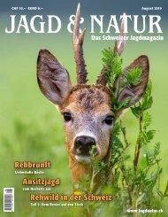 Jagd & Natur Ausgabe August 2019   Vorschau