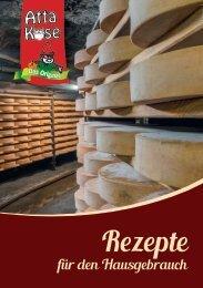 Atta-Käse Rezeptbuch