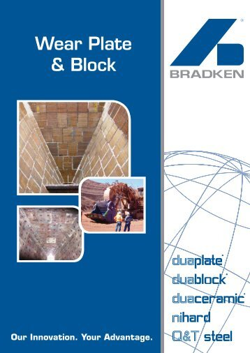 Wear Plate & Block (2256kb pdf) - Bradken