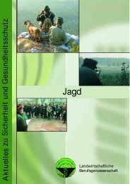 Ausübung der Jagd - Landesjagdverband Nordrhein-Westfalen