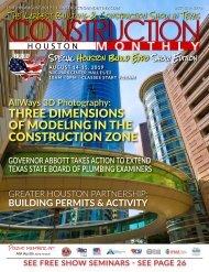Houston 2019 Construction Monthly