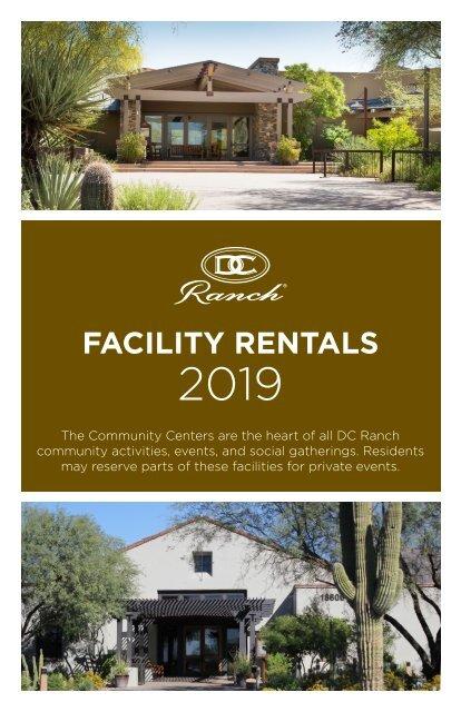 Facility Rental Brochure 2019