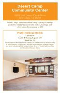 Facility Rental Brochure 2019 - Page 2