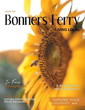 August 2019 Bonners Ferry Living Local