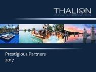 Prestigious Partners Thalion