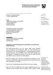 Leitlinien Rübenfütterung - Landesjagdverband Nordrhein-Westfalen