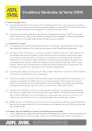 ASFL SVBL conditions_générales