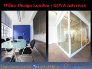 Office Design London - KOVA Interiors