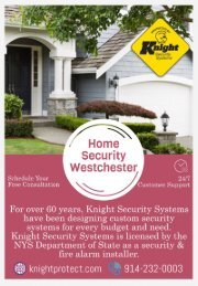 Home Security Westchester | Home Alarm Systems