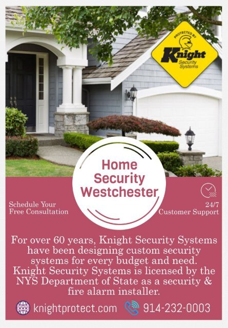Home Security Westchester   Home Alarm Systems