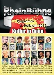 RheinBühne Programmheft 2. Halbjahr 2019