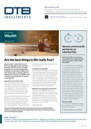DTB Investments_SpringNewsletter2019