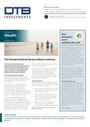 DTB Investments Ltd_SummerNewsletter2019