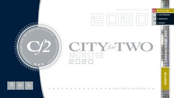 CITY for TWO MÜNSTER | Limitierte Ausgabe 2020
