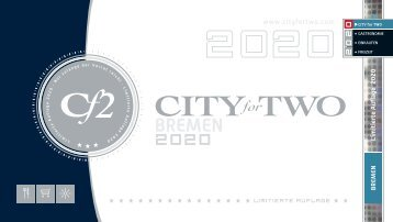 CITY for TWO BREMEN | Limitierte Ausgabe 2020