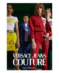VERSACE JEANS COUTURE SS 2020