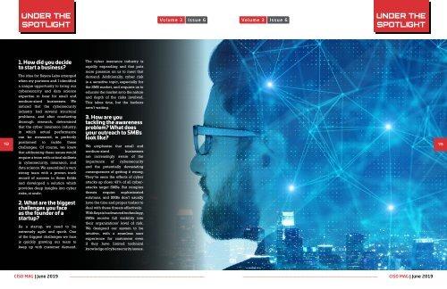 Asaf Lifshitz Interview with CISO Magazine