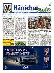Hänicher Bote | Mai-Ausgabe 2016