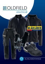 Oldfield Electrical - Blaklader Range