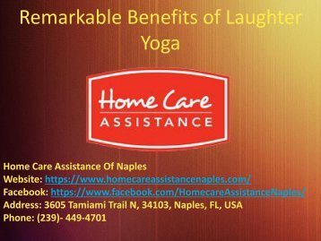 Life Changing Benefits of Laughter Yoga For Seniors