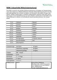 WSM 3 (dauerhafte Wildschutzmischung) - KJS Unna
