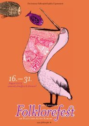 Programmheft Folklorefest Krefeld 2019
