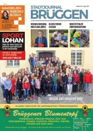 Stadtjournal Brüggen_ August 2019