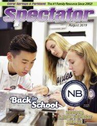 Spectator Magazine August 2019