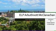 ELP Arbuthnott McClanachan Solicitor & Estate Agency