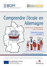 Schule in Deutschland verstehen (französische Sprachfassung)