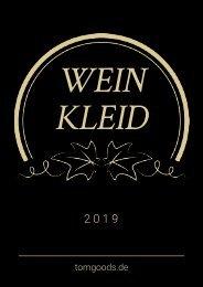 Weinkleid, Weindress oder Hülle für Rotwein, Weißwein, Sekt- und Champagnerflaschen