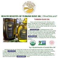 Turkish Olive Oil