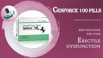 Buy Cenforce 100 Tablets