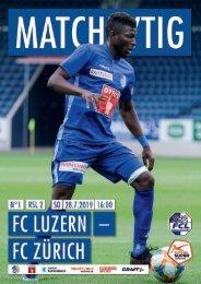 Matchzytig_01 FC Zürich_20190728