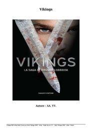 Scaricare Libri Vikings Gratis Di AA. VV.