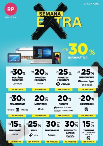 Folheto Semana Extra W30