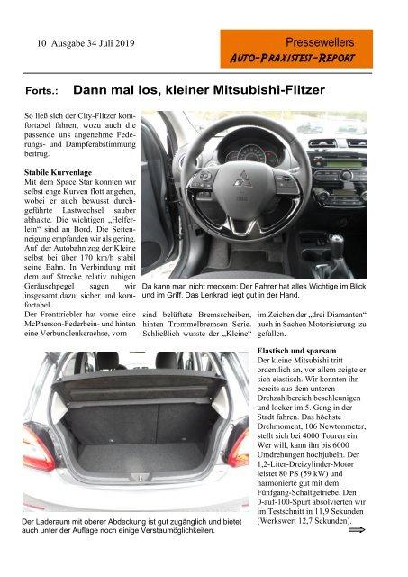 Kia Picanto und mehr - Auto-Praxistest-Report 34