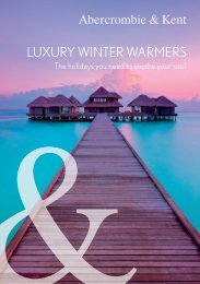 Luxury Winter Warmers