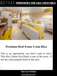 Properties For Sale Costa Rica