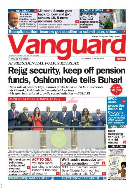 25072019 - Rejig security, keep off pension funds