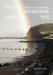 Watchet, Williton and Quantock Advertiser, August 2019