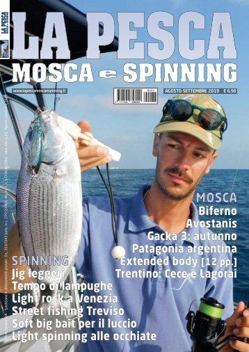 La Pesca Mosca e Spinning 4/2019