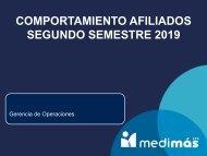 CO MPORTAMIENTO USUARIOS segundo trimestre2019