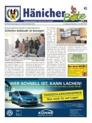 Hänicher Bote | März-Ausgabe 2016
