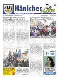 Hänicher Bote   Januar-Ausgabe 2016